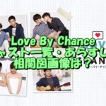 Love By Chanceのキャスト一覧・あらすじ・相関図画像を紹介!